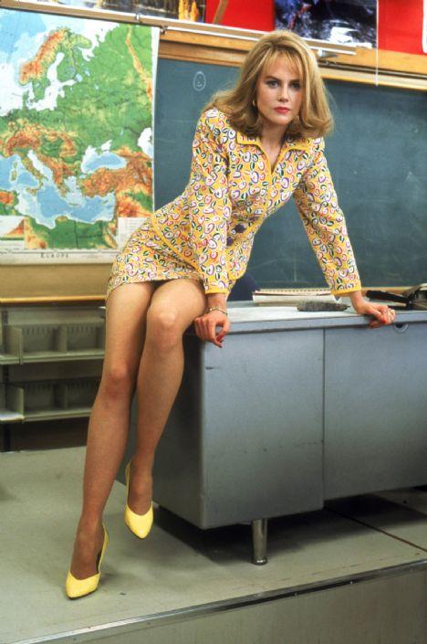 Nicole Kidman Fazla savunmada görünüyor bu yüzden çekiciğini kaybediyor.